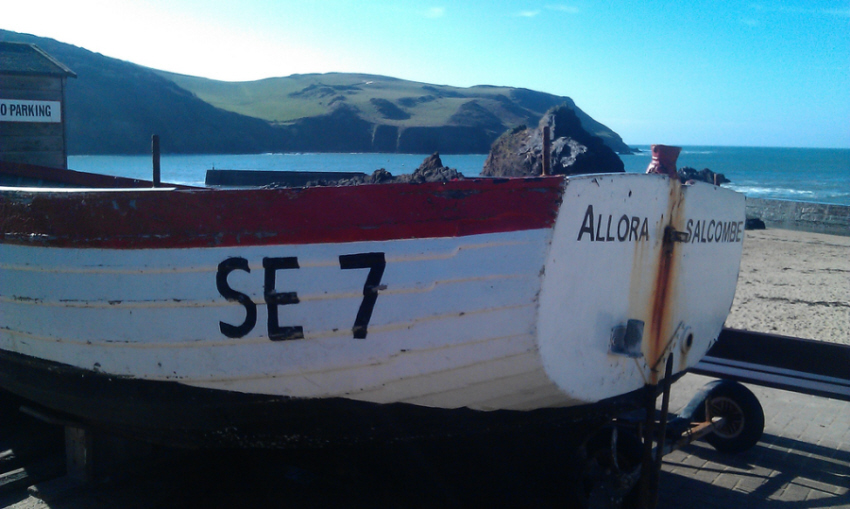 Hope Cove Boat 1